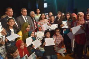 محافظ الفيوم يكرم أوائل الشهادات التعليمية في احتفال قصر ثقافة الفيوم  