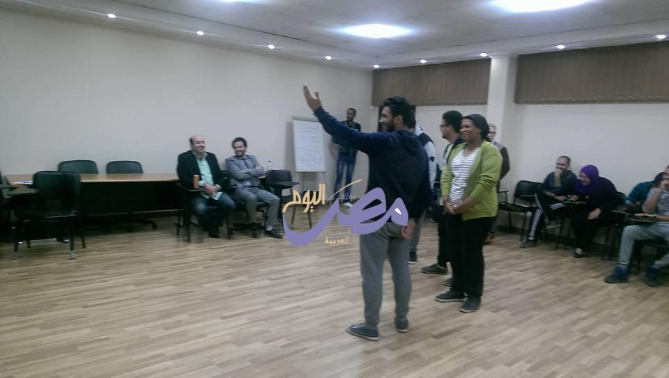 في ختام ورش عمل التمثيل المسرحي للموهوبين بمسابقة إبداع |