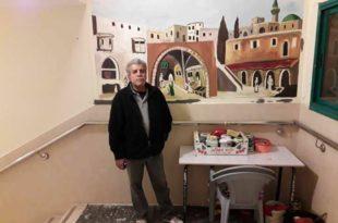 جمعيه ابداع الفلسطينيه تنظم المهرجان الفني الثاني من تراثنا رسم ونحت |