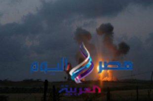 قوات الإحتلال تقصف مواقع لحركة حماس بغزة ..