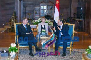 الرئيس السيسي يستقبل السيد كلاوس يوهانيس، رئيس جمهورية رومانيا اليوم بشرم الشيخ