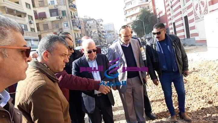 محافظ بورسعيد يتابع سير العمل في اعمال توسعة ورفع كفاءة الطرق |