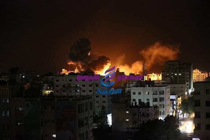 مازالت غزة تحت القصف الإسرائيلي  