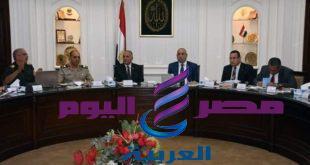 وزيرا الإسكان والرى يعقدون اجتماعاً لتطوير محور المحمودية بمحافظة الإسكندرية