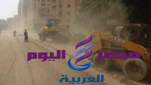 محافظة الجيزة : حملات إزالة للتعديات على اراضى املاك الدولة