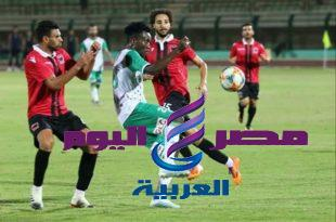 النسور الخضر تعود من جديد بالفوز بهدفين للاشئ علي فريق نادي مصر