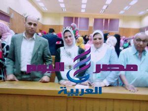 جامعة الفيوم : حفل استقبال الطلاب الجدد بكلية دار العلوم