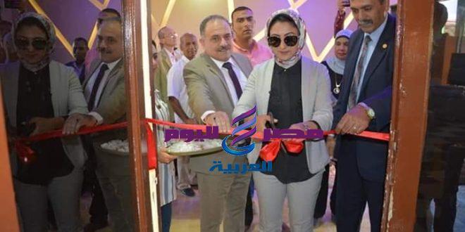 نائب محافظ الوادى الجديد تفتتح معرض منتجات وزارة الإنتاج الحربى  