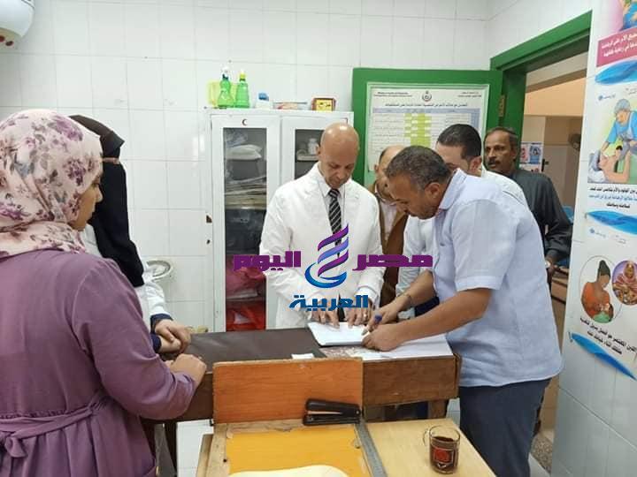 مرور مفاجئ لوكيل وزارة الصحة بالشرقية علي وحدة الولجا بمنيا القمح |