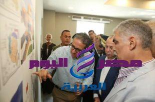 وزير الاثار يتفقد الأعمال الانشائية لمتحف كفرالشيخ