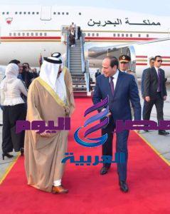 السيد الرئيس يستقبل جلالة ملك البحرين.