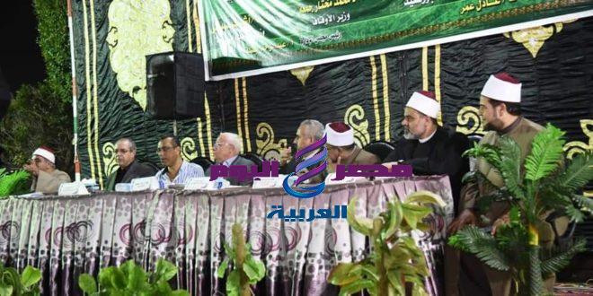 محافظ بورسعيد يشهد إحتفالية المولد النبوي الشريف بمركز شباب الاستاد ببورسعيد