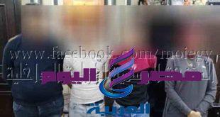 ضبط مرتكبى واقعة إشعال النيران بمعرض سيارات بالإسكندرية