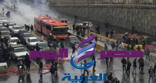الإعلام الإيراني: عودة الهدوء عقب احتجاجات استمرت يومين اعتقل فيها نحو ألف شخص