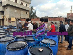 مسعود يقود حملة مكبرة على الأغذية بديرب نجم بالشرقية