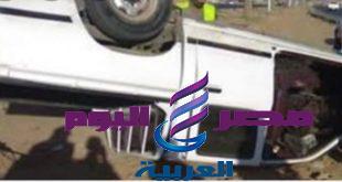 انقلاب سياره ربع نقل واصابه 14شخص بالدقهليه