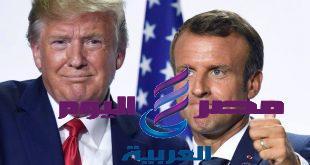 """ترامب يصف ماكرون بأنه """" سئ وغير محترم """" قبل لقاء قمة الناتو"""