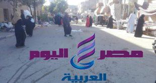 حملة رفع اشغالات ونظافة مكبره بشوارع اسنا جنوب الاقصر