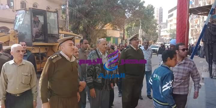 حملة مكبرة لضبط الأسواق بمدينة طهطا في سوهاج |