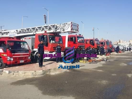 بروفات لتمهيد المشروع التعبوى لمواجهة الأزمات والكوارث بمحافظة السويس |