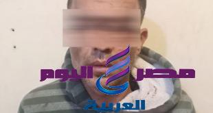 عاطل حب يعمل راجل أدام مراته قتل جاره بالمرج بالقاهرة