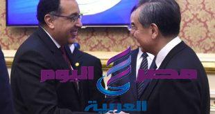 رئيس الوزراء يلتقى وانج يي مستشار الدولة ووزير الخارجية لجمهورية الصين الشعبية