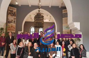 متحف الفن الإسلامى يستقبل مجموعة من زوجات السادة الوزراء و الدبلوماسيين الحاليين والسابقين كتب مينا صلاح