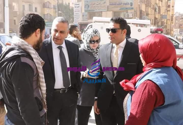 محافظ سوهاج يوجه برفع الإشغالات من ميدان الشهيد عبد المنعم رياض خلال 48 ساعه |