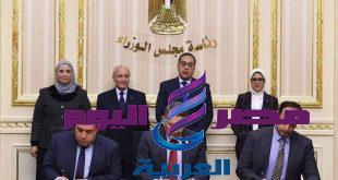 رئيس الوزراء يشهد مراسم توقيع بروتوكول تعاون