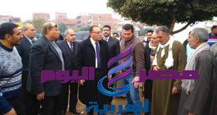 دغراب يأمر بإزالة كشك مخالف أمام مدرسة تل حوين الإعدادية بالزقازيق