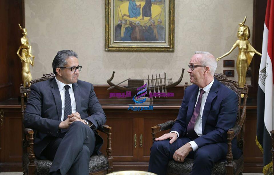 وزير السياحة والآثار يلتقى رئيس اتحاد منظمى الرحلات الأمريكية USTOA | وزير السياحة