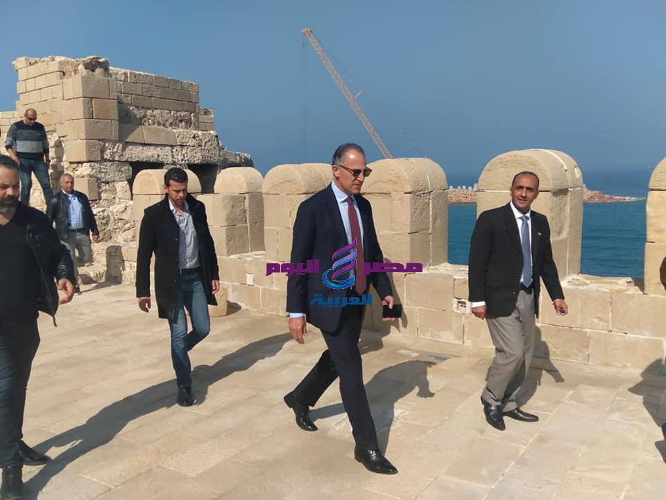 قلعة قايتباي بالاسكندرية تستقبل السفير الأمريكي Jonathan Cohen | بالاسكندرية