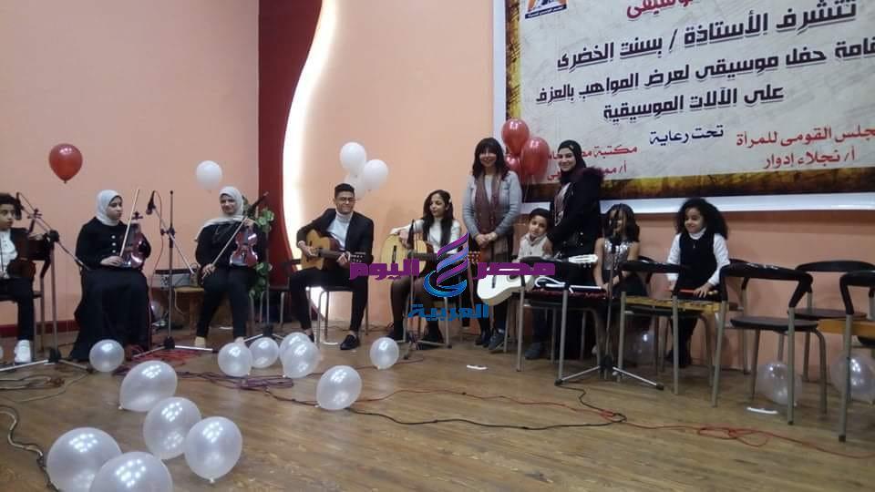 فعاليات حفل تنمية واكتشاف المواهب برعاية المجلس القومي للمرأة ببورسعيد   المجلس القومي