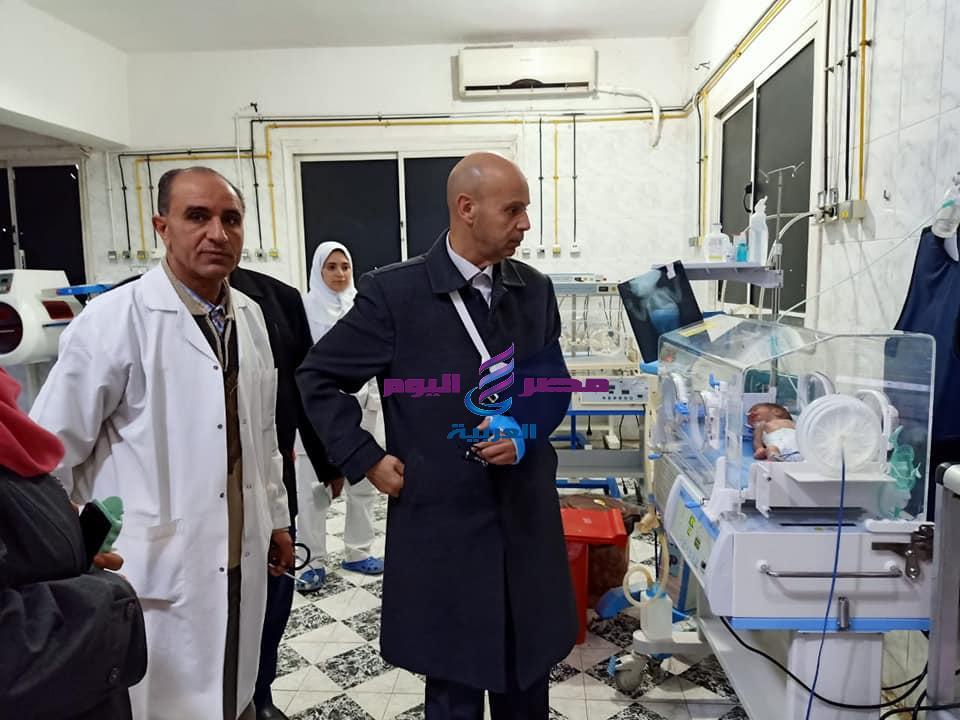 وكيل وزارة الصحة بالشرقية يتابع فعاليات الحملة القومية للتطعيم ضد شلل الأطفال - وزارة الصحة