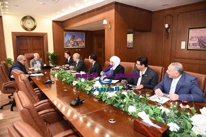 المحافظ يناقش مع وفد وزارة الثقافة فعاليات موسم بورسعيد عاصمة للثقافة المصرية | يناقش
