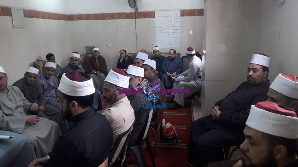 إجتماع طارئ لأئمة أوقاف الرمل بالاسكندرية. | إجتماع طارئ