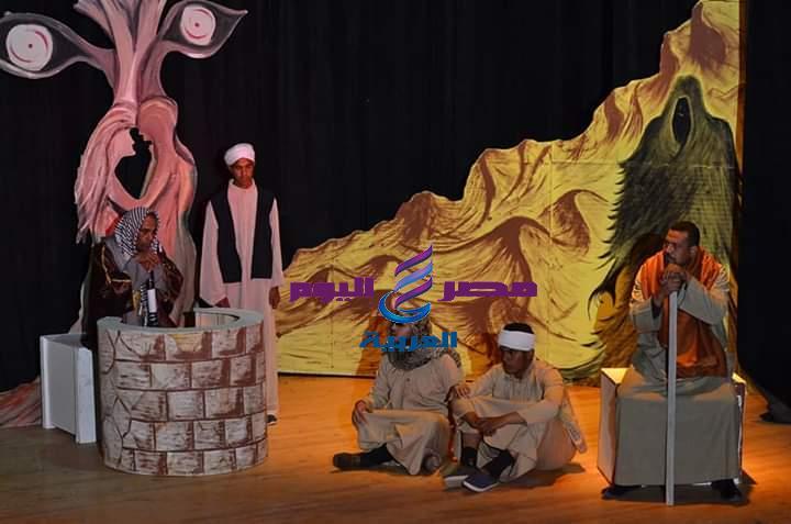 مسرحية الغولة تتالق علي مسرح مهرجان التجارب النوعية بقصر الزعيم | مسرحية الغولة تتالق علي مسرح