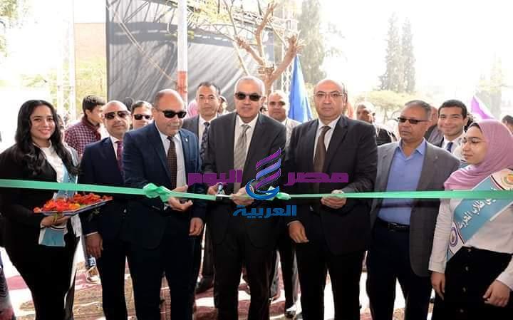 افتتاح معرض جامعة المنصورة الثانى للمنتجات الوطنية | افتتاح معرض جامعة المنصورة