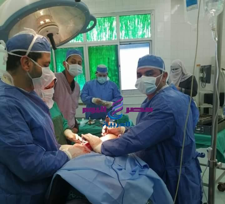 صحة الشرقية : إجراء عملية تركيب مفصل بالفخد لأول مرة بمستشفي الصالحية | صحة الشرقية