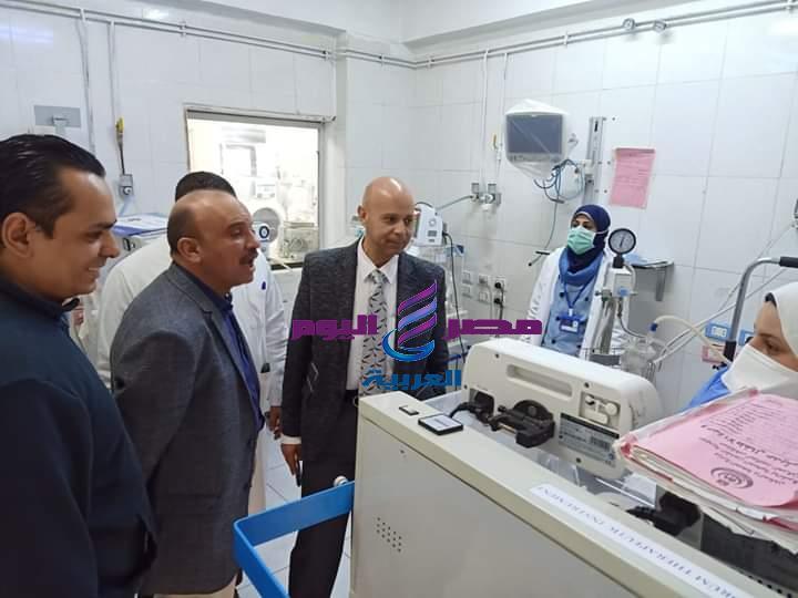وكيل وزارة الصحة بالشرقية يتابع نقل العيادات الخارجية من مستشفي أبو كبير | وكيل وزارة الصحة