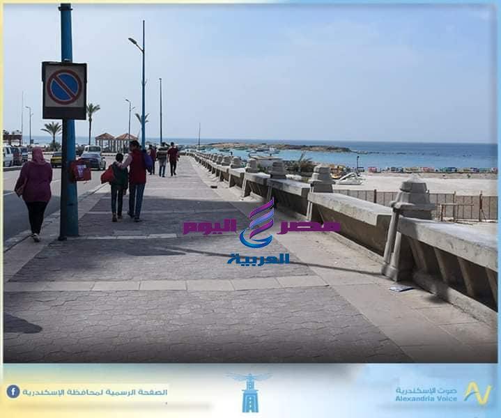 محافظ الإسكندرية يتفقد الكورنيش وسوق الميدان بالمنشية   الإسكندرية
