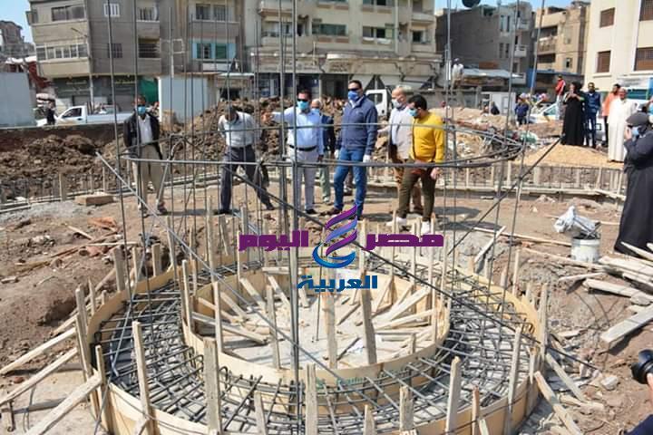 بالصور محافظ الدقهلية يتفقد تطوير ميدان الشيخ حسانين ويوجه بتكثيف الأعمال تمهيداً للافتتاح | محافظ الدقهلية
