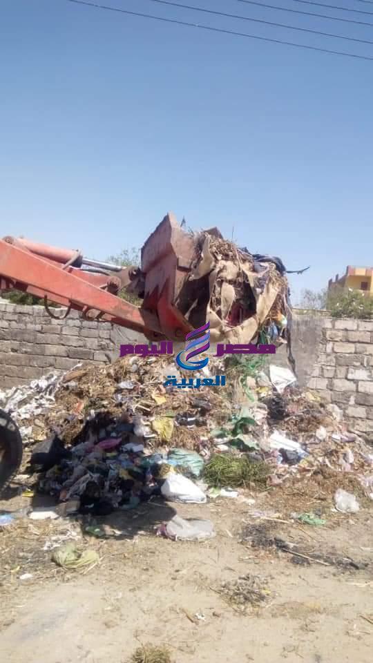 31 حملة مكبرة للنظافة ورفع الإشغالات بمحافظة الفيوم | حملة مكبرة