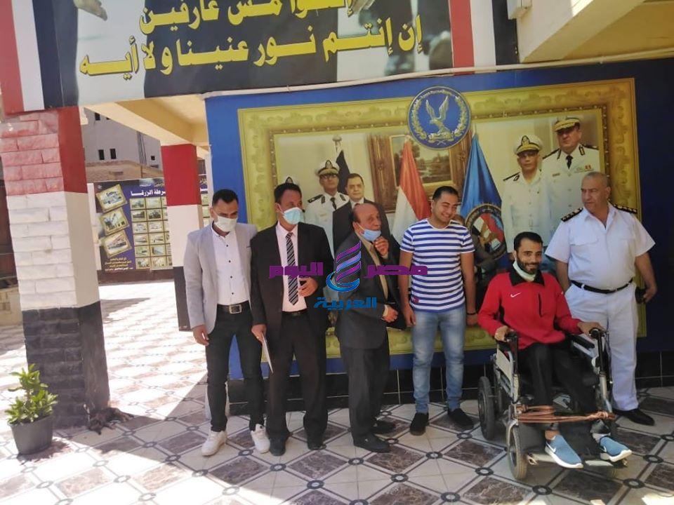 حراس مصر تكرم شرطة مصر بمركز الزرقا بدمياط