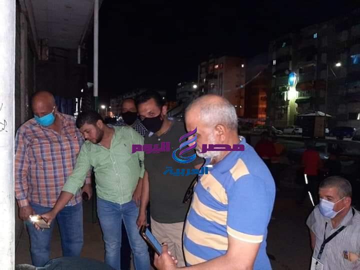 ظهور حالة ايجابية كورونا بمحل كوافيره بحي الضواحي ببورسعيد وتم اغلاقة