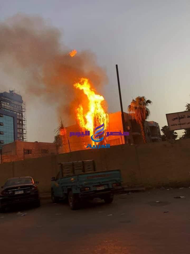الصحة: السيطرة على حريق مستشفي حميات امبابة بدون اى مصابين | السيطرة