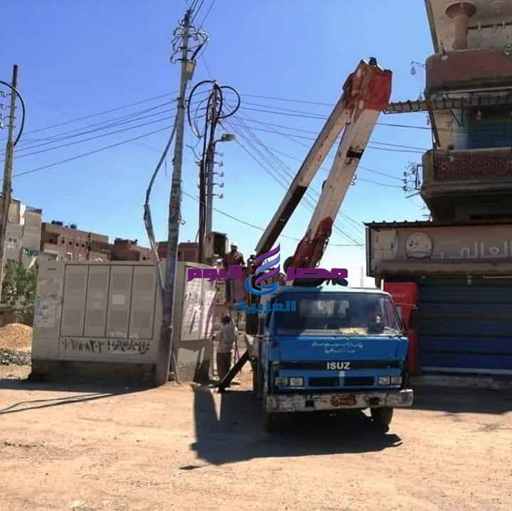 استمرار حملات النظافة والتجميل ورفع كفاءة الانارة بمدن وقرى كفر الشيخ | التجميل