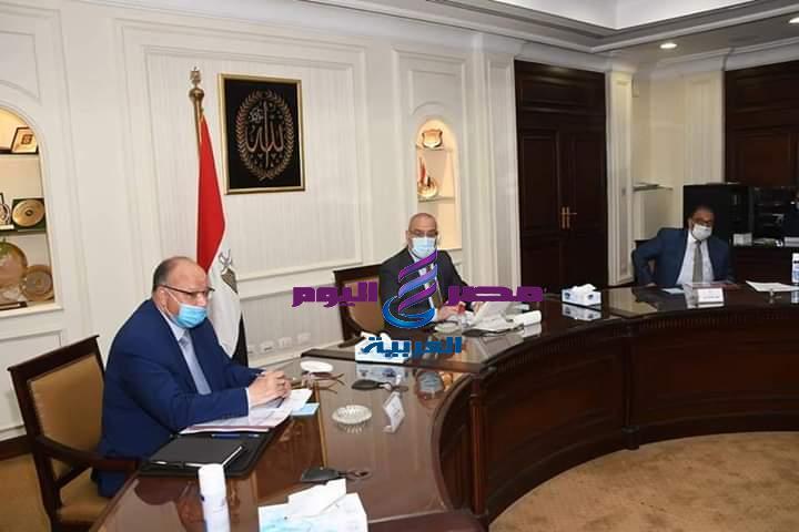 وزير الإسكان ومحافظ القاهرة يتابعان تنفيذ مشروع تطوير مثلث ماسبيرو | وزير الإسكان