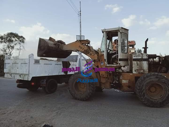 رؤساء المراكز والمدن يتابعوا أعمال النظافة والتجميل بمحافظة كفر الشيخ | رؤساء