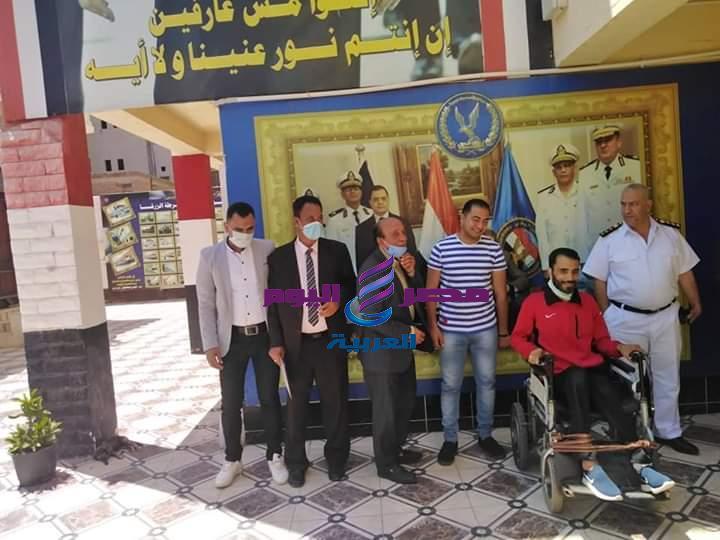 حراس مصر تكرم شرطة مصر بمركز الزرقا بدمياط | حراس مصر